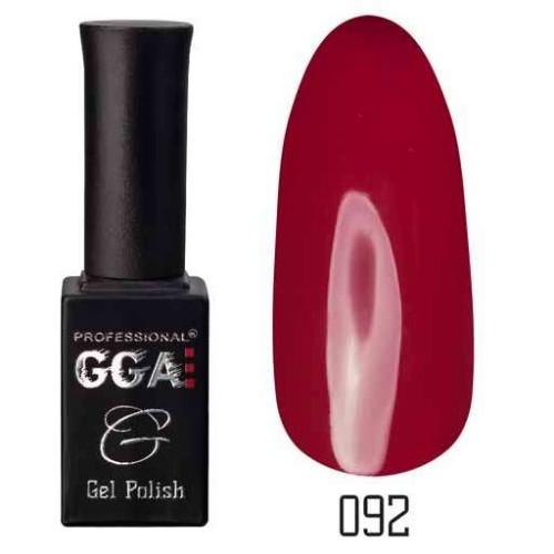 Гель лак GGA Professional 10 мл № 092