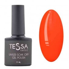 Гель-лак Tessa 9 мл № 017 - оранжевый