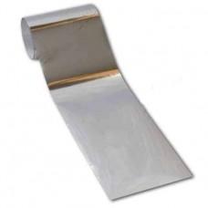 Переводная фольга для дизайна ногтей 1 м - серебро