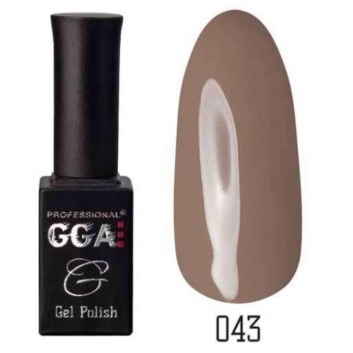 Гель лак GGA Professional 10 мл № 043
