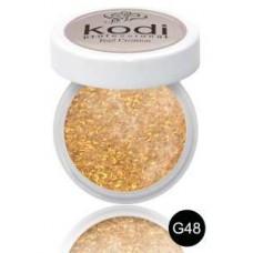 """Цветной акрил """"KODI Professional"""" 4,5 г. G - 48"""