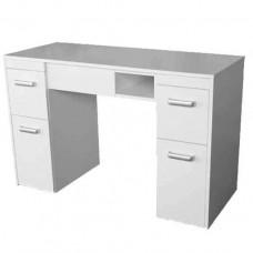 Маникюрный стационарный стол Тор, белый