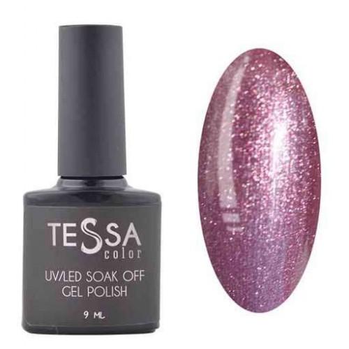 Гель-лак Tessa 9 мл № 038 - фиолетовый с шиммером