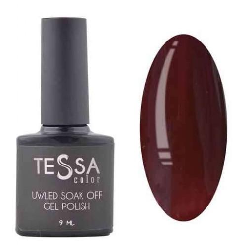Гель-лак Tessa 9 мл № 068 - темно-бордовый