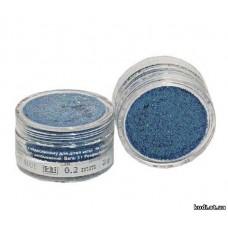 Глиттер №21 3гр. голографический голубой S11 (0,2mm) Velena