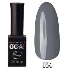 Гель лак GGA Professional 10 мл № 034