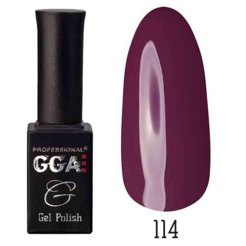 Гель лак GGA Professional 10 мл № 114