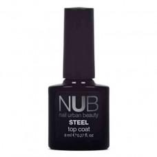 Топ без липкого слоя NUB Steel Top Coat, 8 мл