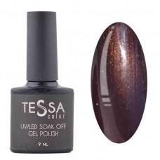 Гель-лак Tessa 9 мл № 029 - коричневый с шиммером