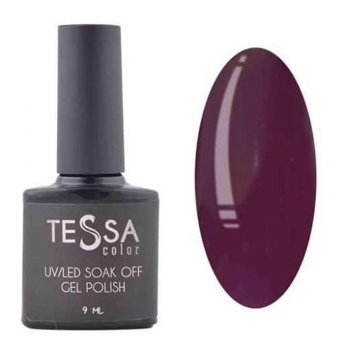 Гель-лак Tessa 9 мл № 039 - фиолетово-черный