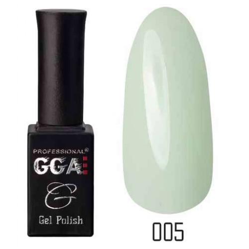 Гель лак GGA Professional 10 мл № 005