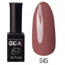 Гель лак GGA Professional 10 мл № 045