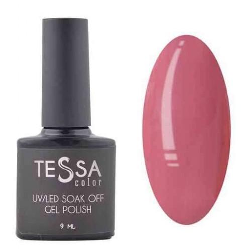 Гель-лак Tessa 9 мл № 010 - темно-розовый