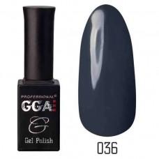 Гель лак GGA Professional 10 мл № 036