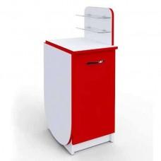 Маникюрный стол Практик компакт складной, красный