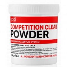 Быстроотвердеваемый акрил KODI Professional (Compatition Clear Powder) 224 гр.