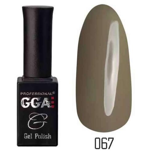 Гель лак GGA Professional 10 мл № 067
