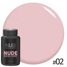 База камуфлирующая NUB NUDE Rubber Base Coat 30мл # 02