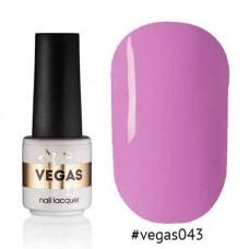 Гель лак Vegas 6 мл № 043