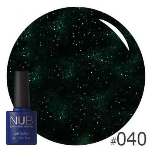 Гель-лак NUB № 040 SPACE TORNADO, 8 мл