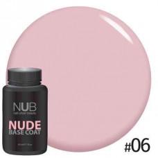 База камуфлирующая NUB NUDE Rubber Base Coat 30мл # 06