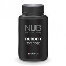 Каучуковый закрепитель для гель-лака NUB RUBBER ТОР COAT 30мл