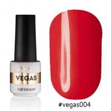 Гель лак Vegas 6 мл № 004