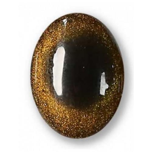 Гель лак Атика Кошачий глаз № 5, 7.5 мл - коричнево-золотой