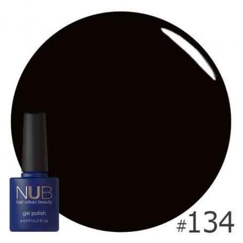 Гель-лак NUB № 134 TINY BLACK DRESS, 8 мл