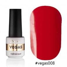 Гель лак Vegas 6 мл № 008