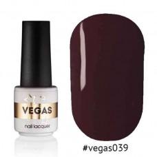 Гель лак Vegas 6 мл № 039