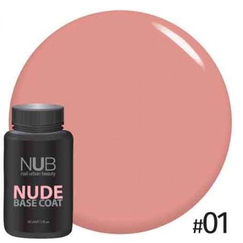 База камуфлирующая NUB NUDE Rubber Base Coat 30мл # 01