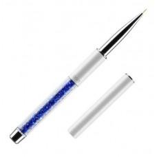 Кисть для росписи ногтей 00/1 (ворс: нейлон, ручка металл, акрил)